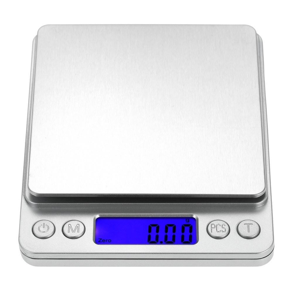 2019 h21396 2 3000g 0 1g accurate kitchen scale high precision jewelry mini food scale electric scale two trays baking tools from noryzhou 12 06 dhgate