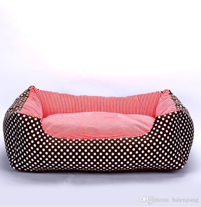 Different color luxury animal Durable soft Using Low Price Modern Cute Pet Beds for dog bed cushion