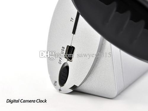 Professional Digital Clock mini Camera with Remote Control Motion Detection Clock MINI DV DVR mini camcorder Clock voice video camera