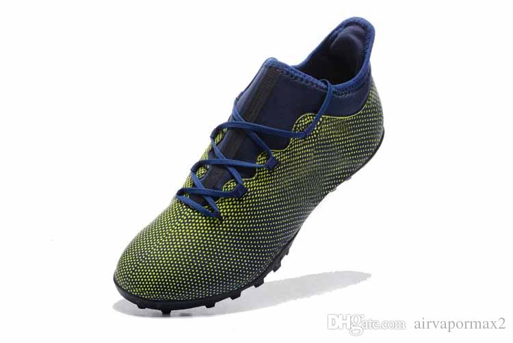 34eeef9e8 2018 Mens Soccer Cleats Tango 17+ Purespeed Ag Ocean Storm Magnetic Storm  Dust Storm Indoor Turf Football Boots Shoes EUR 39 45 Shoes For Sale Cheap  Shoes ...