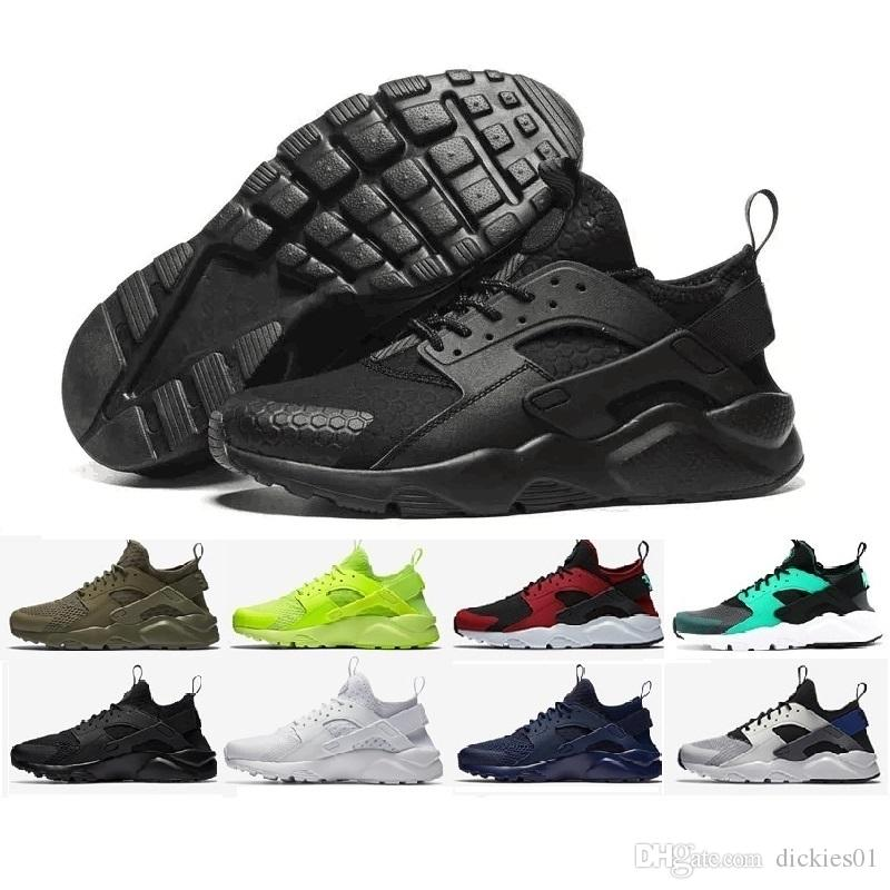 65745f180 2019 Newest Huarache I Running Shoes For Men Women,Green White Black Rose  Gold Sneakers Triple Huaraches 1 Trainers Huraches Sports Shoes Sale Shoes  Men ...