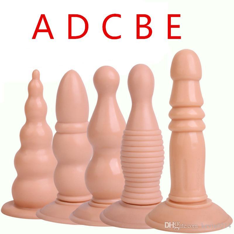 Anal Plug Vagina Stuff Large Dildo Butt Plug Ass Man Adult Game Backyard Massage Fetish Sex Toy H8-65