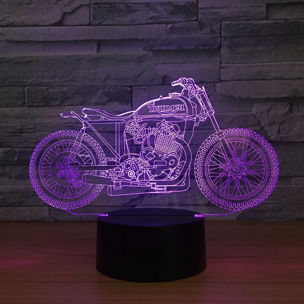 Spawn Sanchez 3D Optical Illusion Lamp Night Light DC 5V USB Powered 5th Battery Wholesale Dropshipping Free Shippin