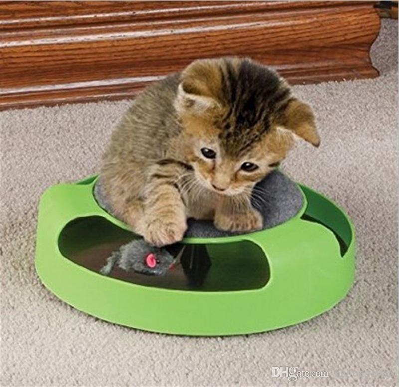 Captura de simulación Ratón de felpa móvil Juguete de gatito Juguete de diversión Ratón giratorio Gatito Juguetes para mascotas Kitte Hot Sale 9 3xy Z