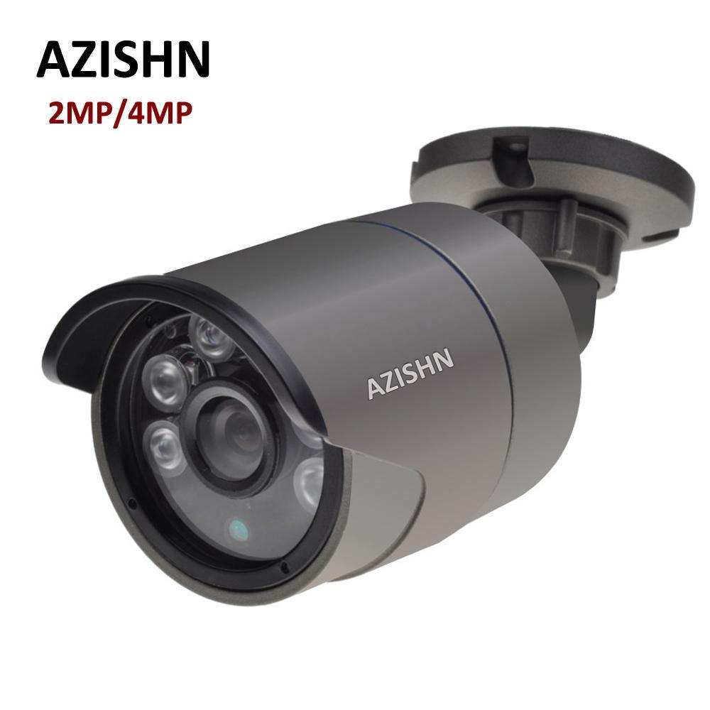 H 265 IP Camera 2MP F22 4MP OV4689 25FPS DC12V/48V PoE ONVIF Motion  Detection IP66 Metal Outdoor Surveillance CCTV Camera