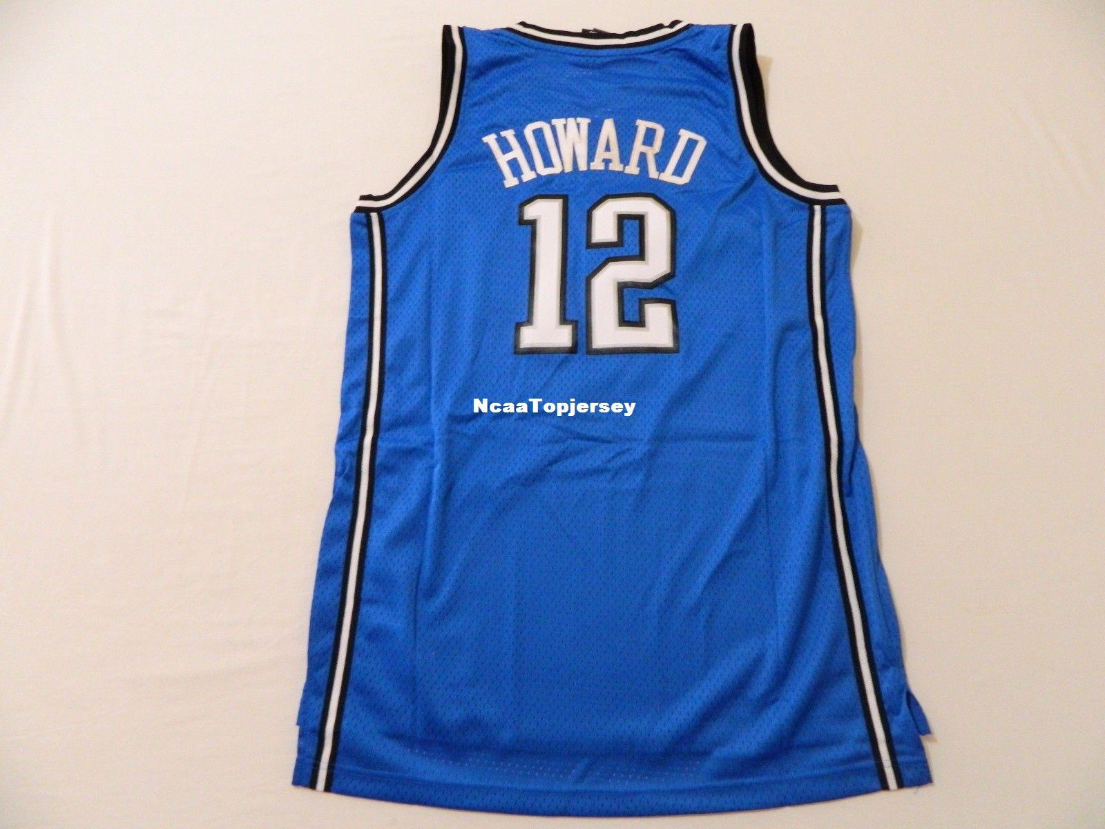 14d1f4dffe0 ... get cheap custom retro new ir 12 dwight howard blue ad jersey mens  stitched vintage sleeveless