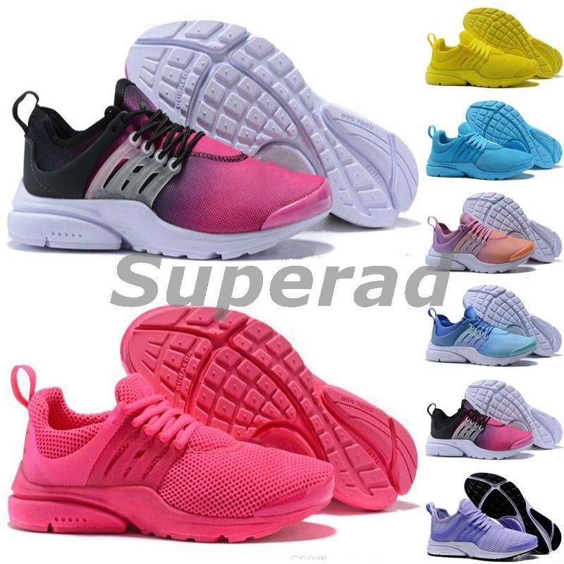 innovative design 6801c 63789 Großhandel 2018 NEW PRESTO BR QS Breathe Schwarz Weiß Damen Basketball Schuhe  Turnschuhe Damen Laufschuhe Hot Sports Schuh Walking Designer Schuhe Von ...