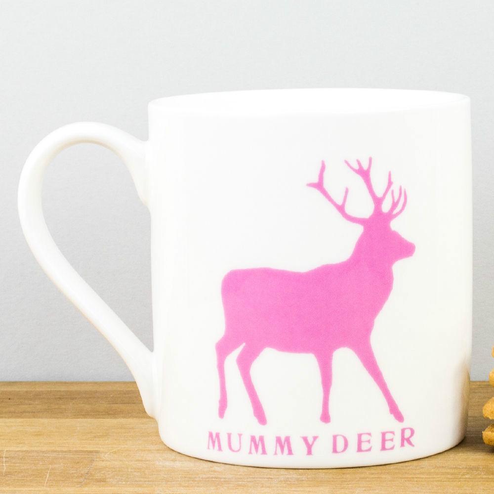 361d5b77b19 New Raw Xclusive Mummy Deer Fine Bone China Personalised Gift Mug Mum  Mother's