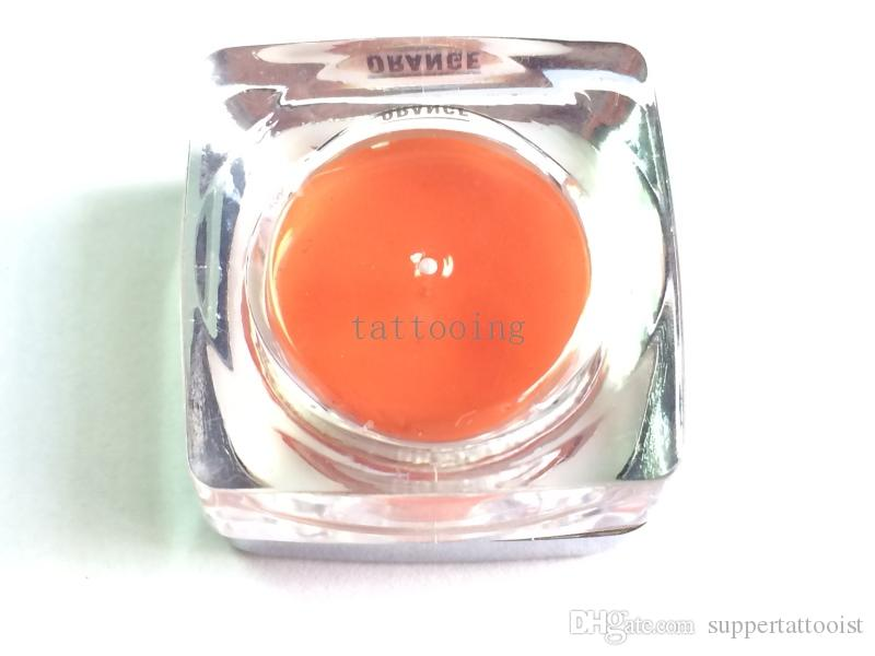 / Biotouch Permanent De Maquillage Pigment Pro Orange Encre De Tatouage Ensemble Pour Eyeliner Lèvre Sourcils Maquillage Machine Rotative