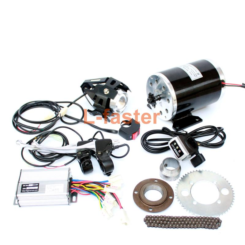 750W Electric Mini Scooter Upgrade Engine Kit Electric Child Motorcycle Engine System Replacement Electric Vehicle Chain Drive