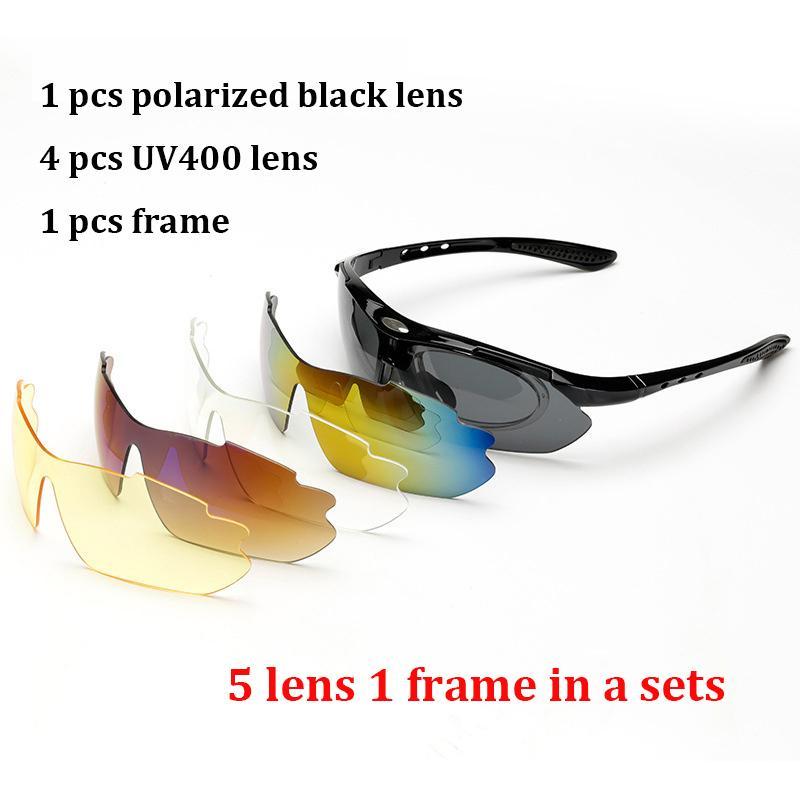 e8c4fa1072 Polarized Goggle Sunglasses Men Women 5 In 1 Outdoor Sport Glasses Optical Prescription  Eyewear Frames Eyeglass Smith Sunglasses Sunglasses At Night From ...