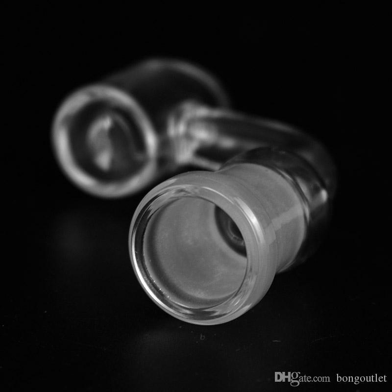 3mm dicke 14mm Rauchknicker mit weiblicher Verbindung 90 Grad Quarz Nägel für Ölstände