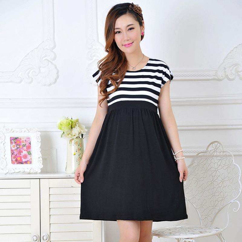 2018 Women Maternity Long Dresses Nursing Dress For Pregnant Women