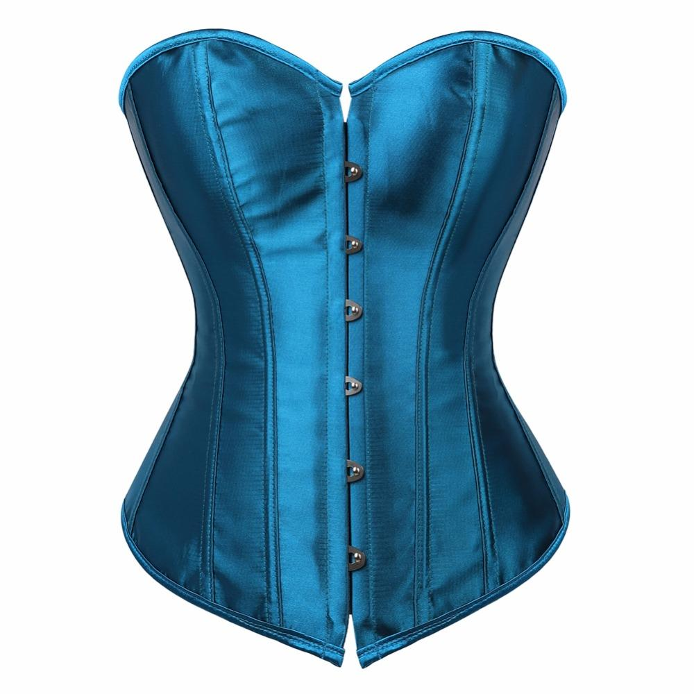 c9bf1e0da3 2019 Caudatus Vintage Corset Tops For Women Plus Size Wedding Bridal Bustier  Corset Lingerie Sexy Corselet Overbust Shapewear Blue From Cadly