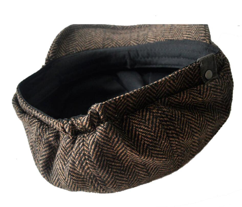 Fashion newsboy caps for men and women hats gorras planas designer cap Leisure and wool blend canned koala flat cap