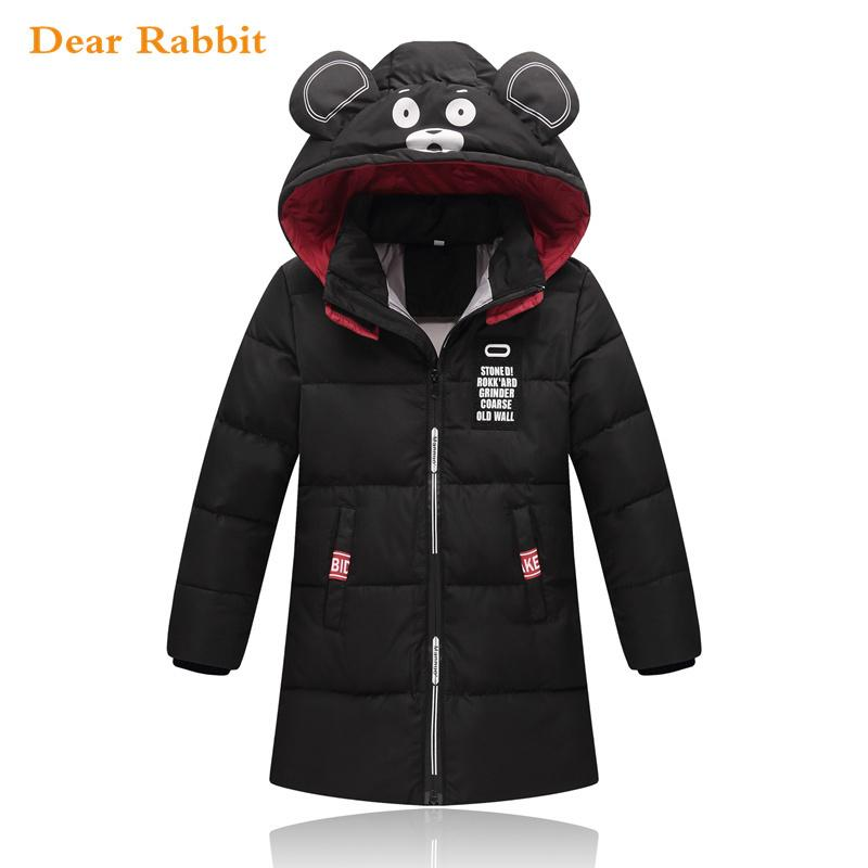 e8b1f17ee06fa 2018 New Children Warm Autumn Winter Down Jacket For Girls Boys Hooded Clothing  Kids Outerwear Coat Teenage Parka Girl Clothes Kid Coats Girl Winter Coats  ...