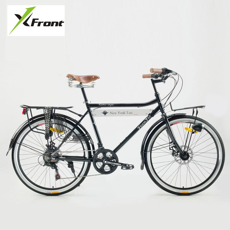 New Brand Carbon Steel Frame Retro Bicycle 21 Speed 26 Inch Wheel ...