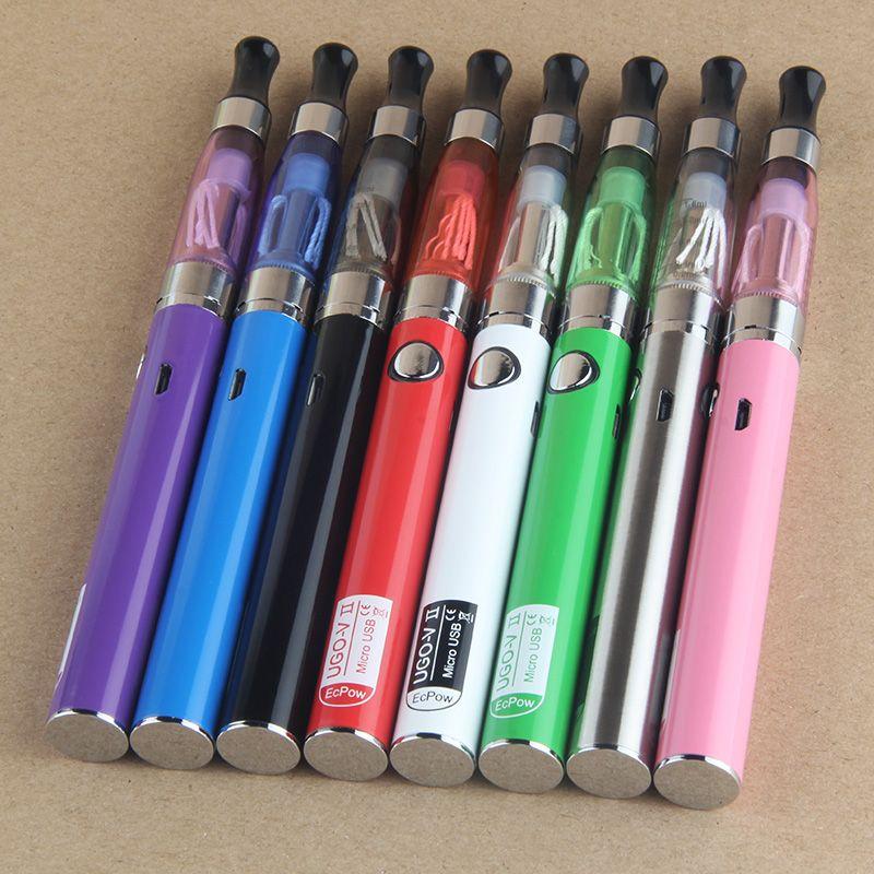EVOD 4 en 1 Vapes Bolígrafos Kits de inicio UGO eGo 510 Hilo Batería Dab Hierba seca Vaporizador Aceite de cera USB Passthrough CE3 Cartuchos
