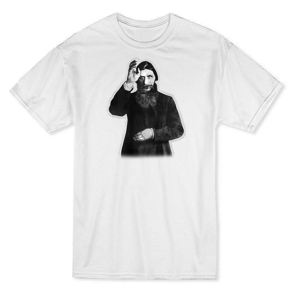 3b7e6215de Mystic Rasputin Men s T-shirt Short Sleeves New Fashion T Shirt Men ...