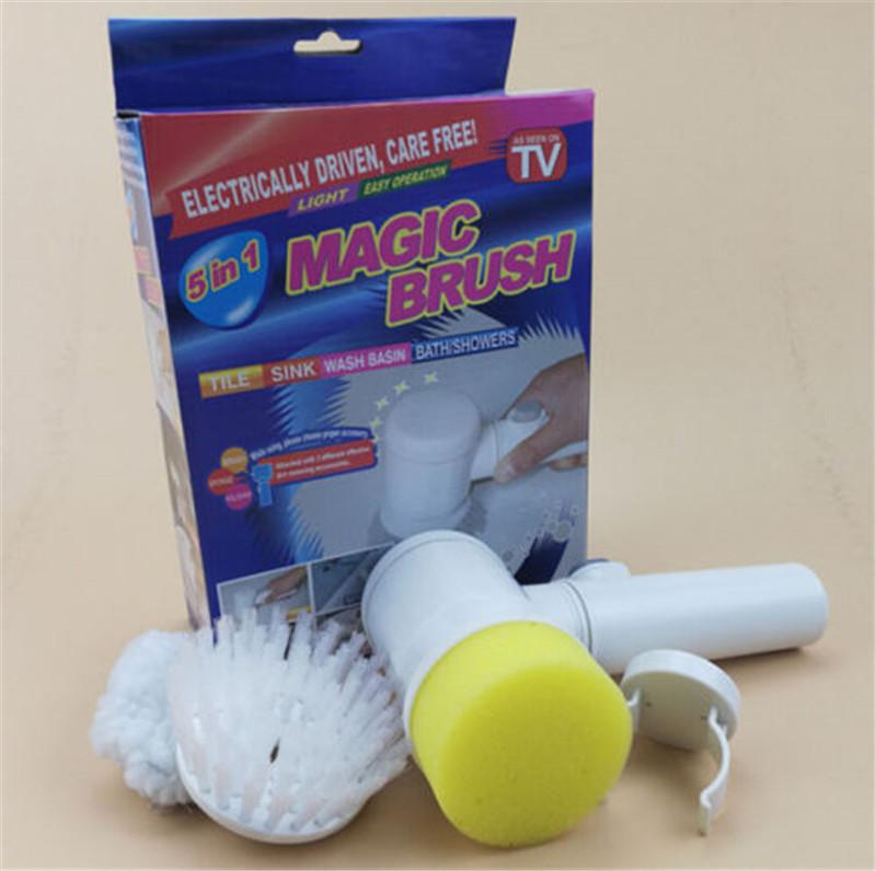 New Strong Multi Function Electric Bath Cleaning Brush In - Electric bathroom cleaning brush