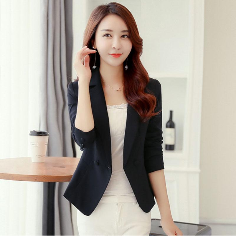2019 Ladies Blazers And Coats Plus Size Office Wear Work ...