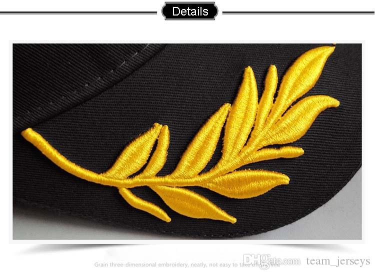 Wheat Spike Embroidered Baseball Cap Fashion Hat Men Women Outdoor Sports Racing Cap Motorcycle Hats Sunshade Caps