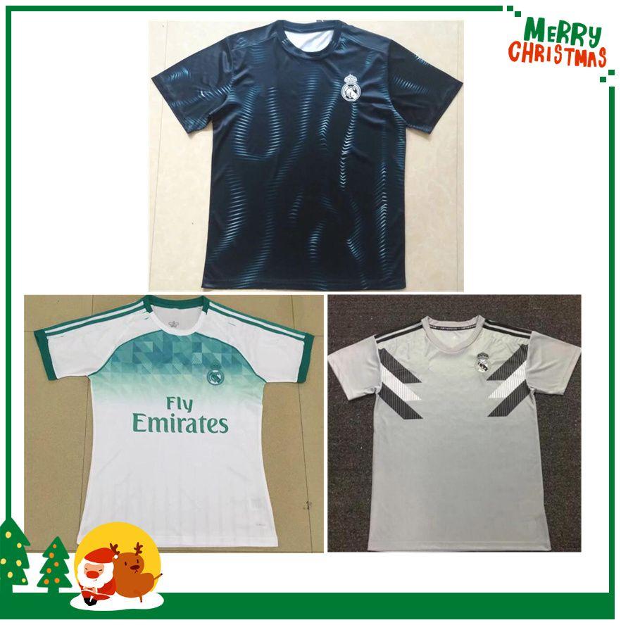 18 19 Camiseta De Entrenamiento Del Real Madrid 3824900a229