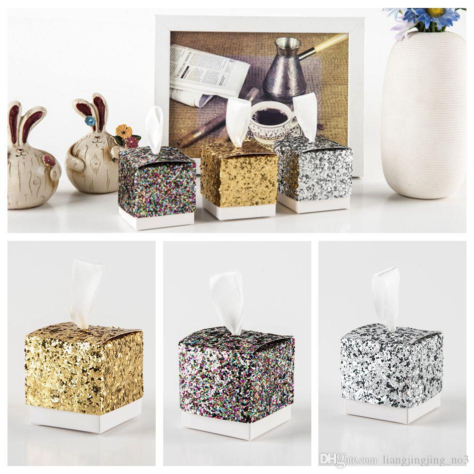 Glitter Paper Candy Sweet Gift Boxes Bags Wedding Favor Boxes Baby Shower Gift Box Cake Gift OOA4417 Gift Wrapping Gift Wrapping Accessories From ...  sc 1 st  DHgate & Glitter Paper Candy Sweet Gift Boxes Bags Wedding Favor Boxes Baby ...