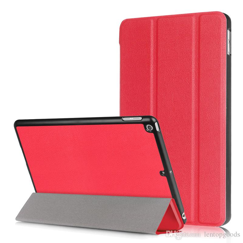 Smart Case for New iPad 2017 9.7 inch Slim Magnetic Stand Cover PU Leather Case for iPad 2017 New Tablet PC Case+Pen