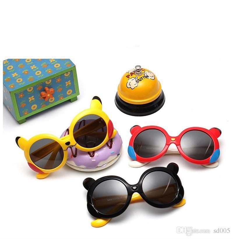 Cute Cartoon Children Polarizing Sunglasses For Boys And Girls Fashion  Round Lens Sun Glasses Soft Resin Frame Eyeglasses Hot Sale 11sb Z  Sunglasses Online ... 389d4b6a49