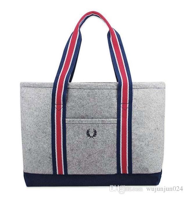 Compre Novo Design Mulheres Bolsa Sentiu Grande Capacidade Senhora Saco De  Compras Totes Top Quality Bolsa Feminina Sacos De Ombro De Wujunjun024 776c62d268e