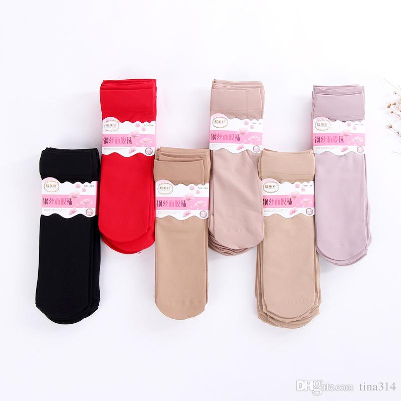 High quality short stockings very light women's Silk strip stocking Summer section stockings BC543