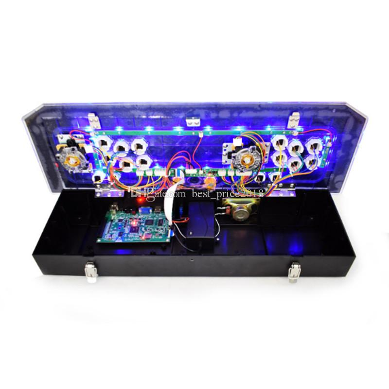 2018 Hot Pandora 5S Arcade Console مع Pacman Street Fighter يمكن تخزين 1299 Games Zero Delay Joystick Buttons Arcade Machine