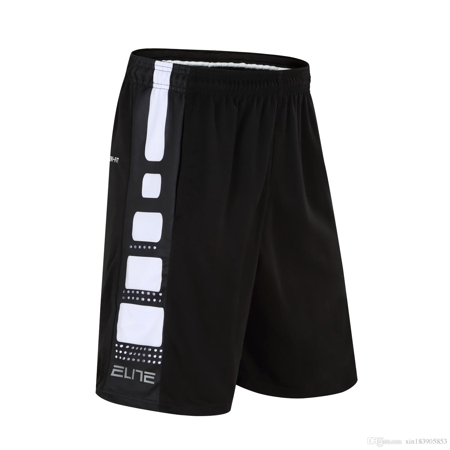 4befff53e9 2019 Basketball Jogging Shorts Mens Water Elastic Pocket Sport Running Short  Trouser Adults Breathable Fitness Training Wear From Xin183905853, ...