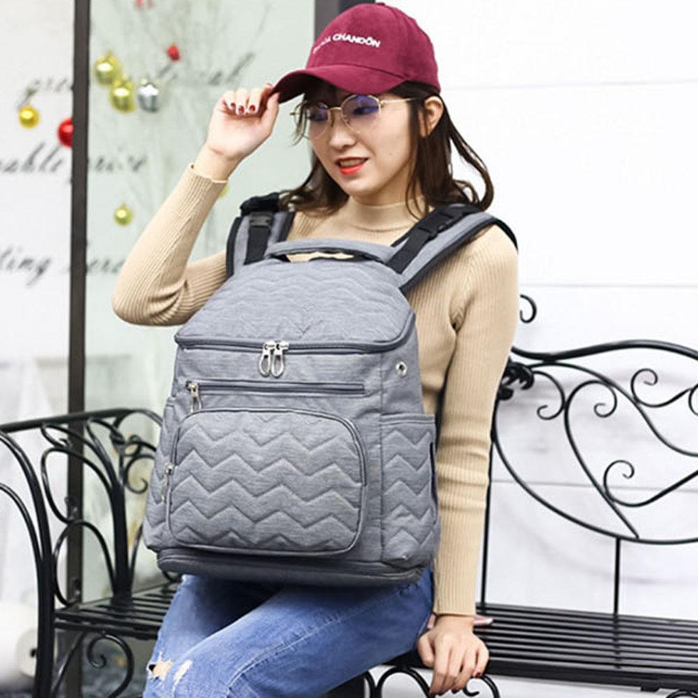 d0d6bcb36c 2019 2018 New Style Baby Bag Backpack Nylon Nursing Bottle Nappy Backpack  Large Capacity Multi Purpose Mummy Travel From Callshe, $29.79   DHgate.Com
