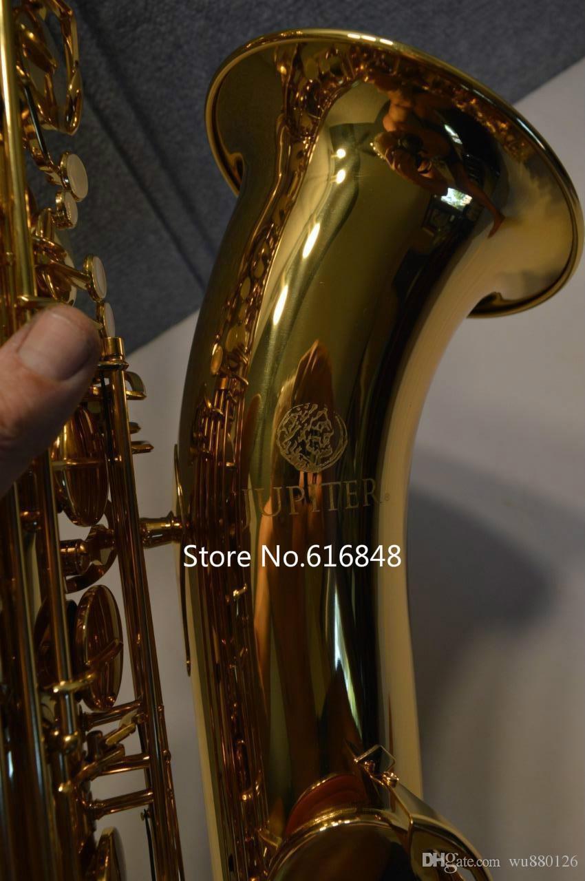 Jupiter JBS1000 Baritono Sassofono Ottone Corpo Lacca Oro Superficie Marca Strumenti E Sassofono Piatto Con Bocchino Tela Custodia