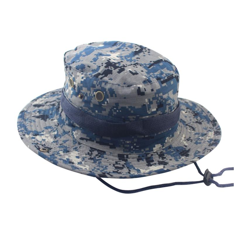 NIBESSER Adjustable Camouflage Bucket Hats Cap Outdoor Washable Boonie Hats  Brand Accessories Summer Men Rain Hat Hats In The Belfry From Playnice a5183ae7a5b