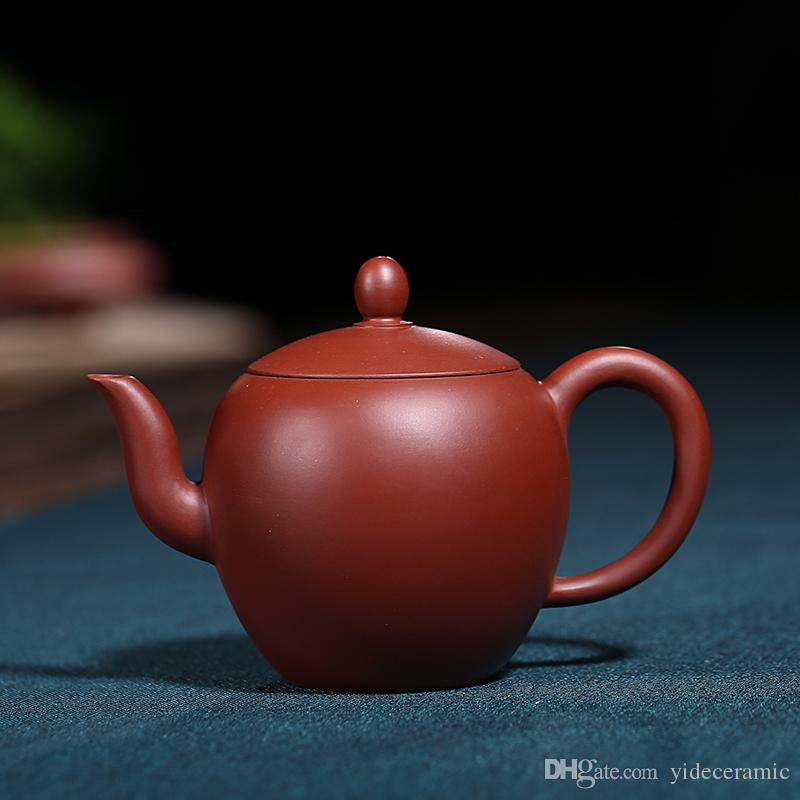 Chinese Ceramic Zisha Tea Pot Handmade Of Good Gift For The Important Person China Style Pottery Yixing Teapot