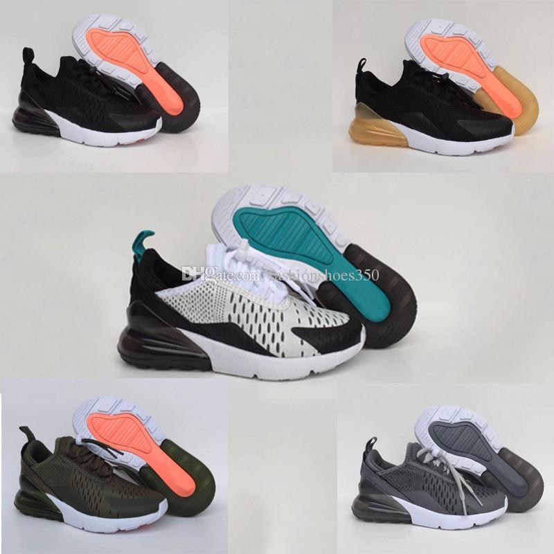 outlet store d0895 bb2b6 Acheter Nike Air Max Vapor Max 2018 Enfants Tiger 270 Enfants Chaussures De Course  Dusty Cactus Noir Chaussures De Sport Pour Filles, Garçons Et Garçons En ...