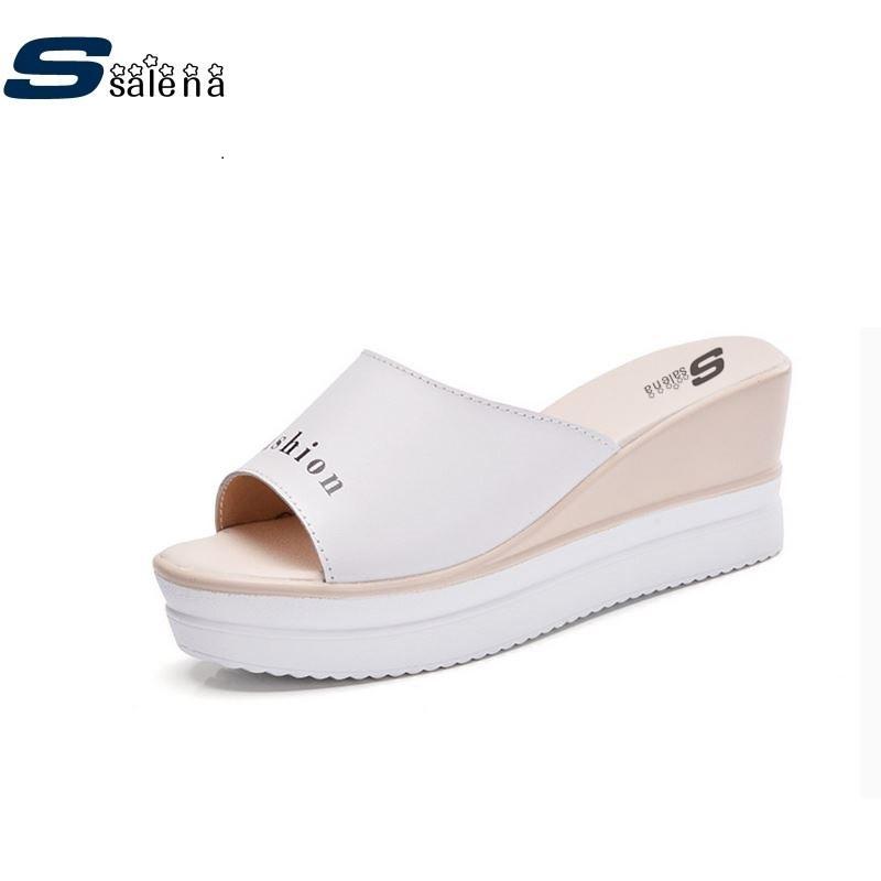 7808aca51dac Brand Slippers Women Non-Slip Summer Slippers Home Women Casual ...