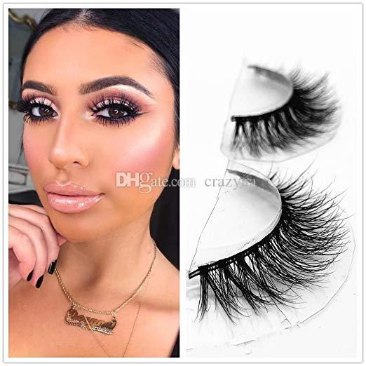 fd66173aaea Winter Mink 3D Lashes Dramatic Makeup Strip Eyelashes 100% Siberian Fur Fake  Eyelashes Hand Made False Eyelashes Sexy Quality Mink Lashes Hollywood  Lashes ...
