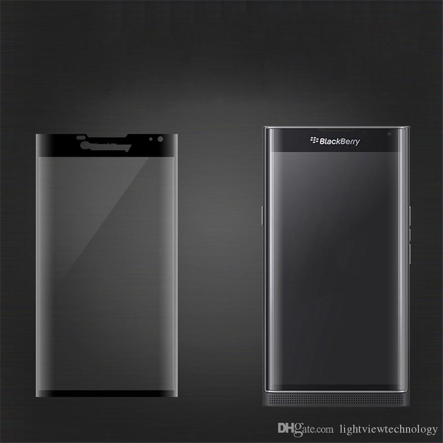 Полное покрытие 3D изогнутая сторона для Blackberry Keyone Blackberry Key2 два Priv закаленное стекло протектор экрана 0.2 мм с розничной упаковке