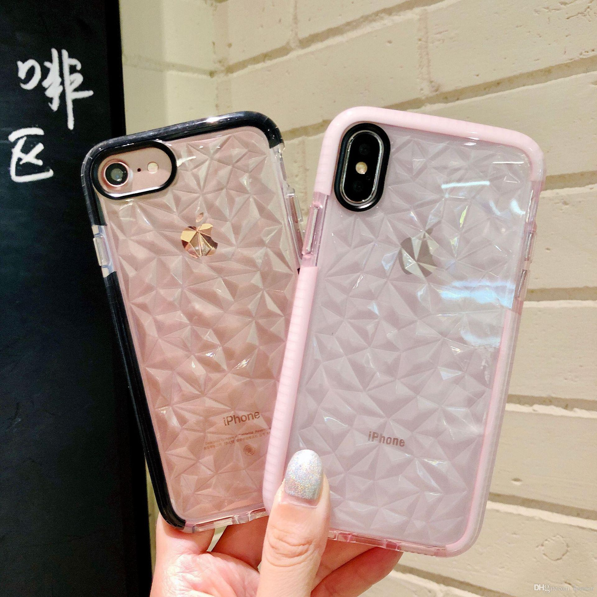 superior quality 67d7f a3cac 2018 Hot sale for iphone 7 plus case dual color for goophone x designer  phone case TPU Back Cover