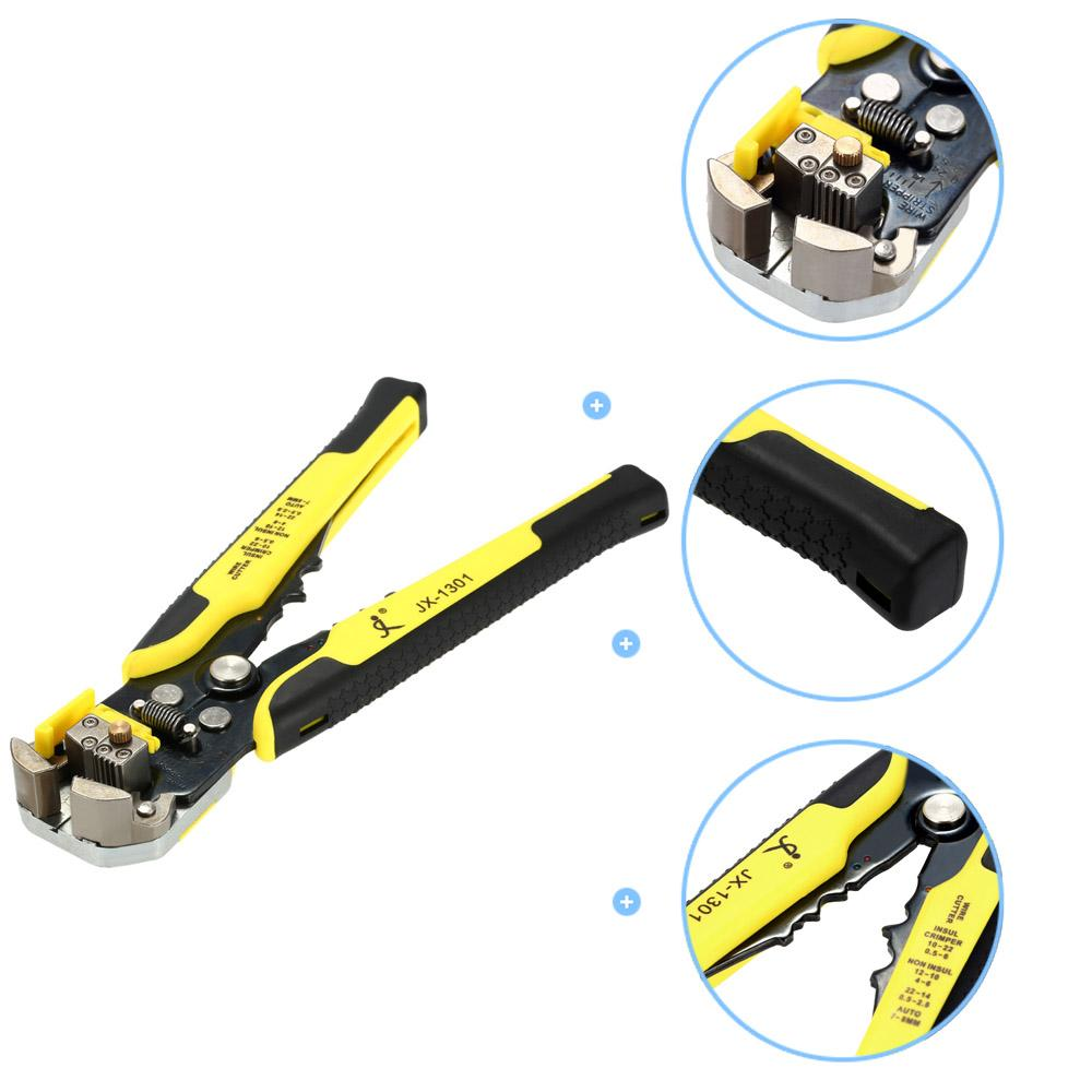 Freeshiping Cable Wire Stripper Multifunctional Automatic Adjustable Cable Wire Cutter Crimping Peeling Pliers Stripping Plier Tool Electric