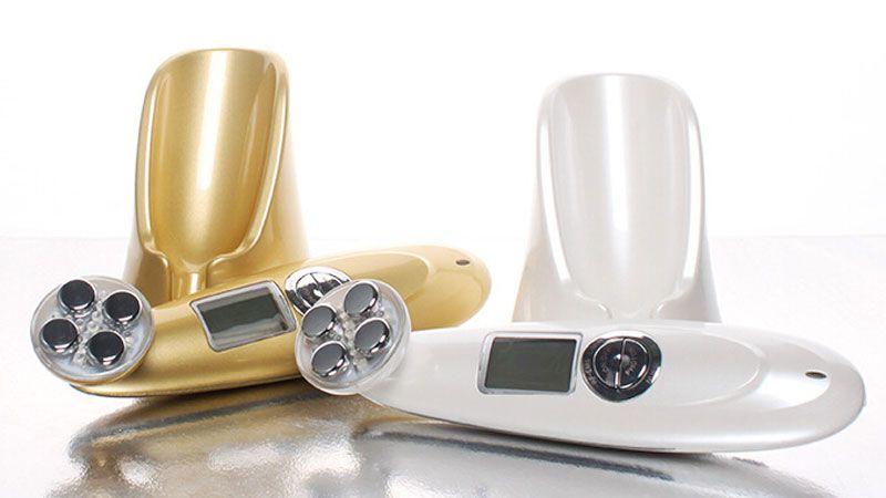 SKINYANG LED ion Face Massager Electric Skin Care Massager Personal Face Skin Care Tool DHL Free