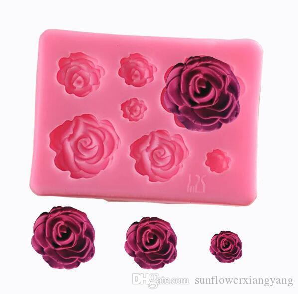 Kitchen,dining & Bar European And American Style Creative Home Decoration Basket Candle Silicone Mold 3d Rose Soap Silicone Mold Home & Garden