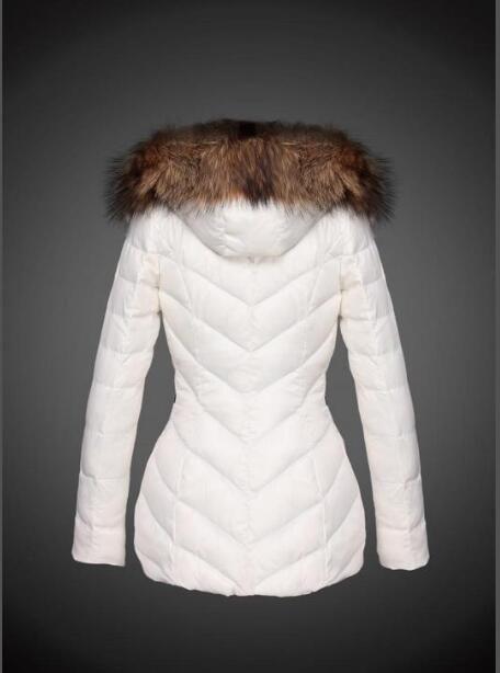 Prestigio Francia Cappotto invernale donne sottile della tuta sportiva il 90% White Goose Coats Giù stand collare sottile casuale Parka Jacket Solid linea E758
