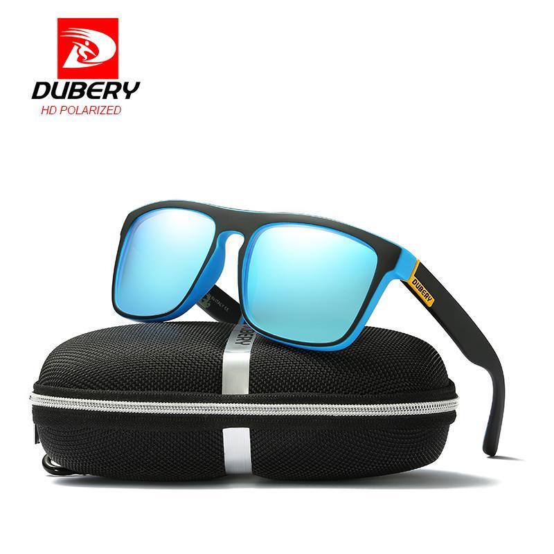 d8d7f8ed2f Dubery Polarized Sunglasses Men S Square Driving Shades Male Sun Glasses  For Men Retro Luxury Brand Designer Oculos Vuarnet Sunglasses Bifocal  Sunglasses ...
