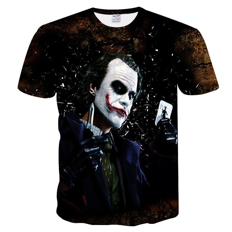 BIANYILONG Big yards Nouveau 2018 T-shirt de marque de mode Hommes / Femmes Été 3d Tshirt Imprimer T-shirt d'ange Tops TeesM-4XL