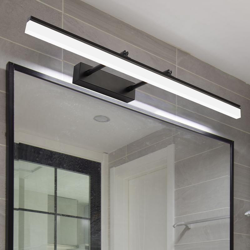 Compre Cuarto De Baño LED Luz De Espejo En El Dormitorio Lámpara De ...